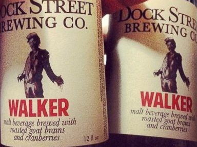 'Walking Dead' Beer Has Roasted Brains and 'Bloody Hue'