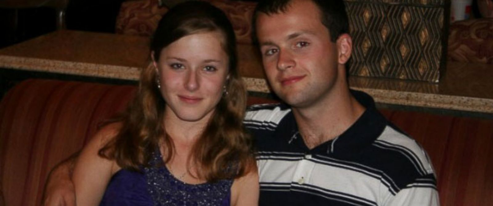 PHOTO: Erin Corwin poses with her husband, Lance Cpl. Jonathan Corwin, in an undated photo provided by her family.