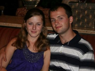 PHOTO: Erin Corwin, a California woman who has been missing since June 28, poses with her husband, Lance Cpl. Jonathan Corwin, in an undated photo provided by her family.