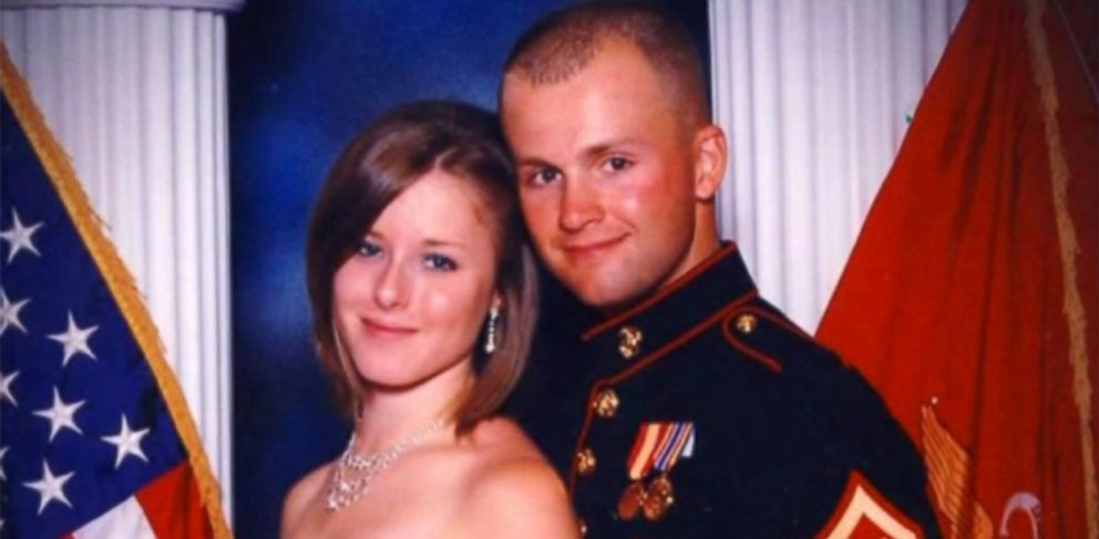 PHOTO: Erin Corwin, seen here with her husband, Marine Corps Lance Cpl. Jonathan Corwin, has been missing since June 28, 2014.