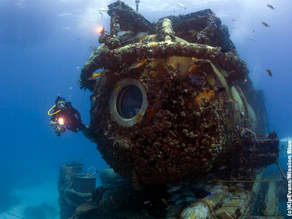 PHOTO: Fabien Cousteau is an oceanographic explorer.