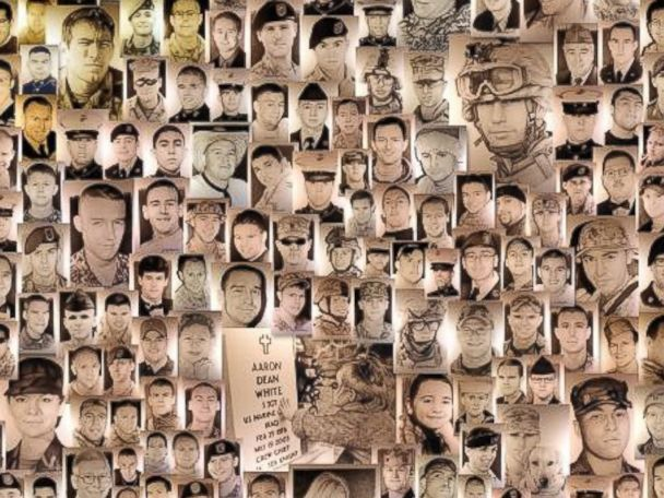 HT fallen heroes poster tk 140120 4x3 608 3,600 and Counting: Vietnam Vets Portraits Pay Tribute to Fallen Soldiers