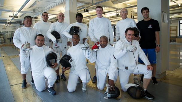 HT fencing photo 02 jef 140626 16x9 608 On Guard: How Sword Fighting Is Bringing Veterans Together