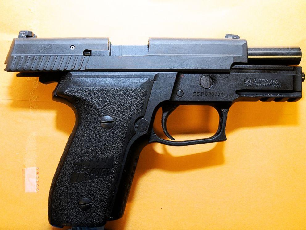 PHOTO: Ferguson, Mo. police officer Darren Wilsons firearm