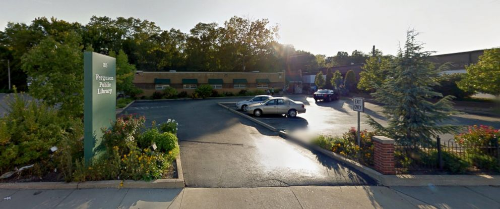 PHOTO: The Ferguson Municipal Public Library is seen in this screen grab from Google Maps.
