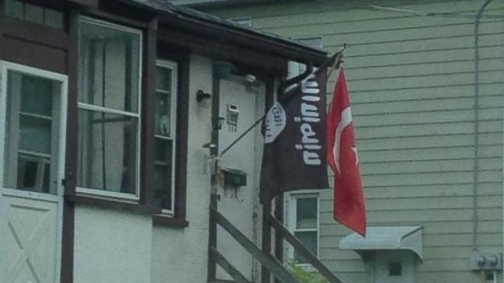 PHOTO: A New Jersey resident posted a photo to Twitter of what he thought appeared to be an ISIS flag.