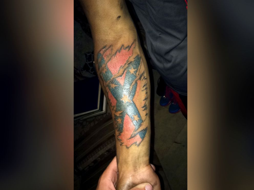 Virginia high school features the confederate flag abc news for Oklahoma flag tattoo
