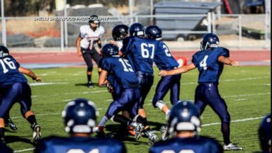 PHOTO: Two students at Union Mine High School in California sustained injuries and were hospitalized following a junior varsity football game, Aug. 28, 2015.