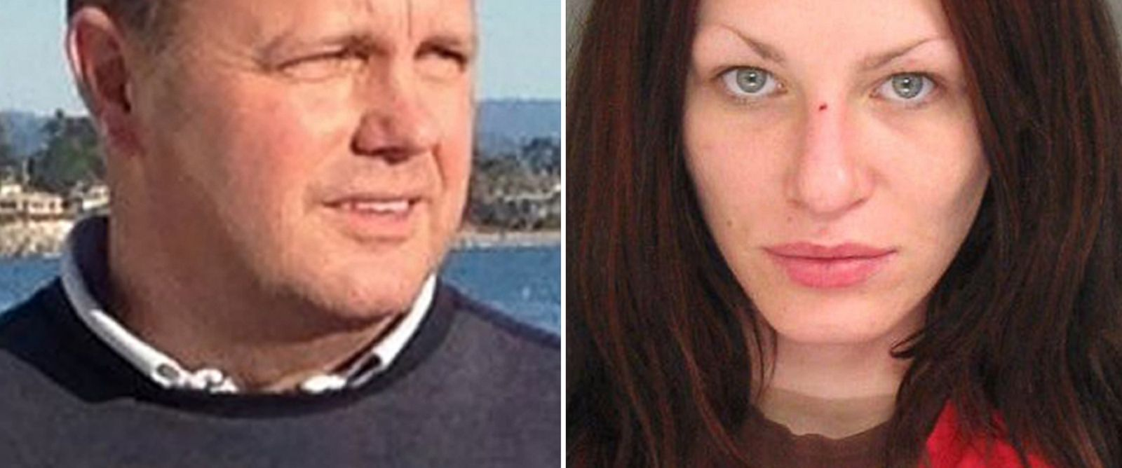 PHOTO: Forrest Hayes was found dead on his yacht of an apparent overdose. Right, Alix Tichelman, is seen here in a police mug shot from Santa Cruz Police Dept.
