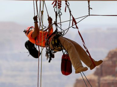 Grand Canyon Skywalk Gets Spring Cleaning