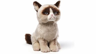 PHOTO: The Grumpy Cat plush toy, from Gund.