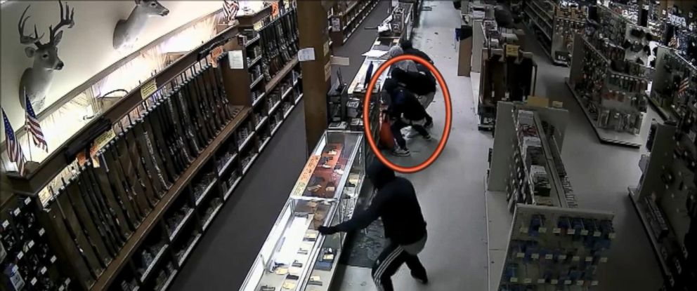 PHOTO:Houston Police Department released this surveillance video from a gun store in Houston.