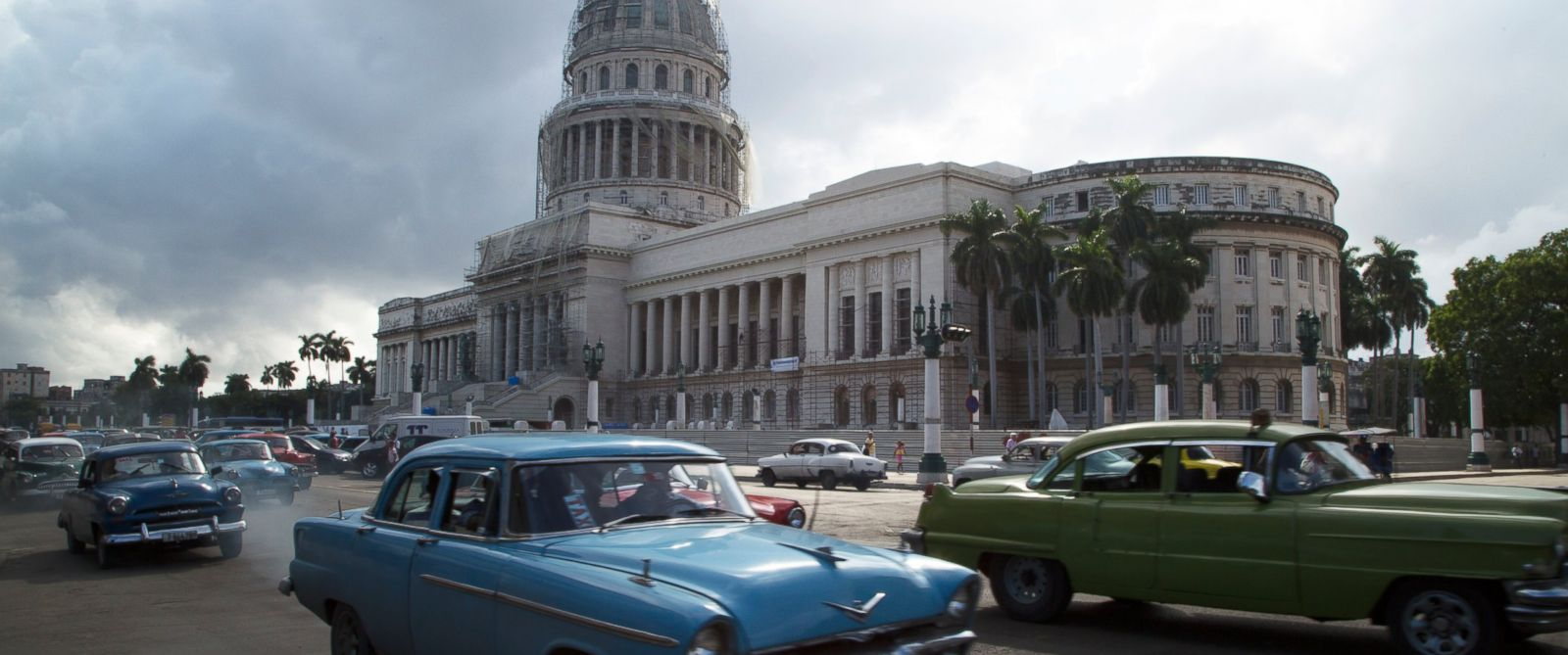 PHOTO: El Capitolio in Havana, Cuba, Dec. 18, 2014.