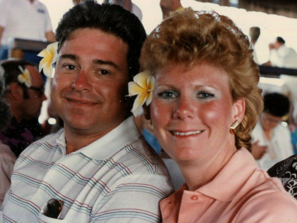 PHOTO: Richard Hoagland is pictured together with his second wife Linda Isler.