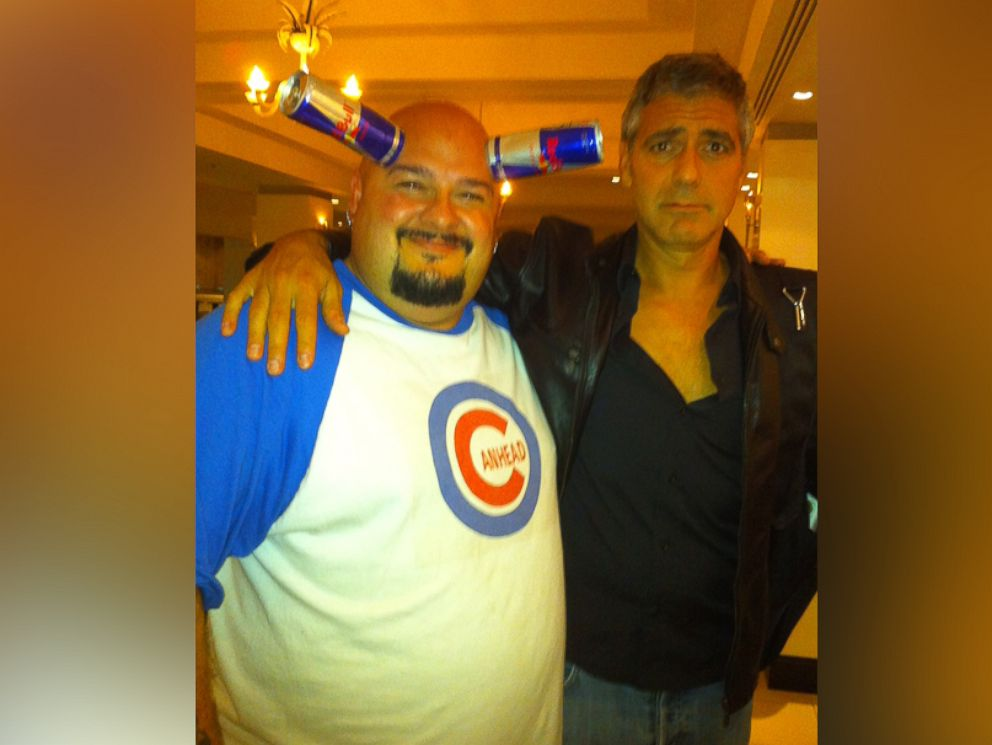 PHOTO: Jamie Canhead Keeton is pictured here with George Clooney.