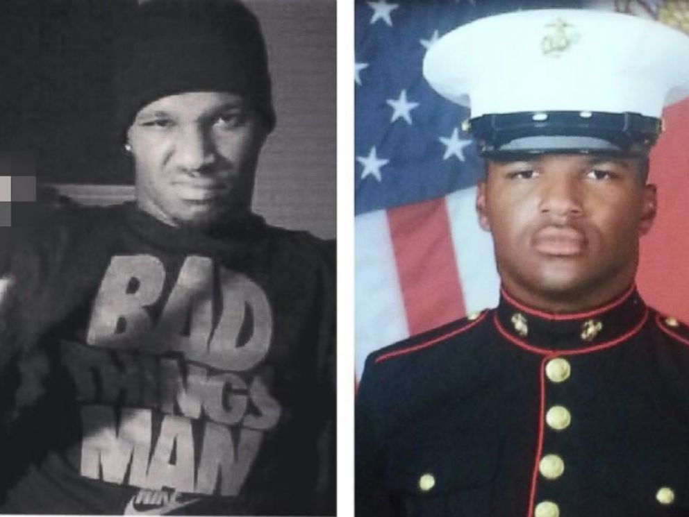 PHOTO: This photo was posted to Twitter, Aug. 10, 2014, with the caption, #iftheygunnedmedown which picture would they use?