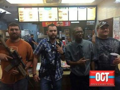 Gun Advocate or Burglar? Spooked Fast Food Workers Hide in Freezer