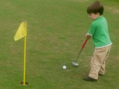 3-Year-Old Golf Prodigy Has PGA Tour Dreams