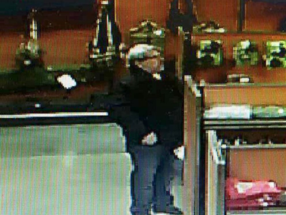 PHOTO: Jonathan Southwick, the owner of Southwicks Gun and Ammo Shop, provided photos to ABC News of a man he says is Jason Dalton in the store, Feb. 20, 2016, in Plainwell, Mich.