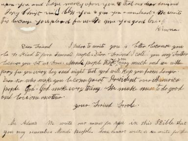 PHOTO: Founding father John Quincy Adams had formally retired from public life in 1840 when he decided to take on a Supreme Court case in order to represent a group of 53 individuals from Sierra Leone who were bound to be sold into slavery in Spain.