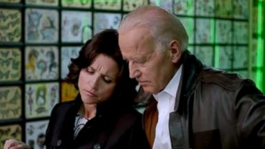 "PHOTO: Joe Biden and Julia Louis-Dreyfus took over the White House Correspondents Association Dinner with a parody video titled: ""Julia Louis-Dreyfus and Joe Biden: White House Correspondents Dinner 2014."""