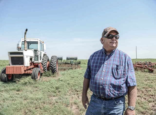 HT kansas life greg cattle rancher thg 131001 wblog Water, as Precious as Gold: Life in Parched Western Kansas