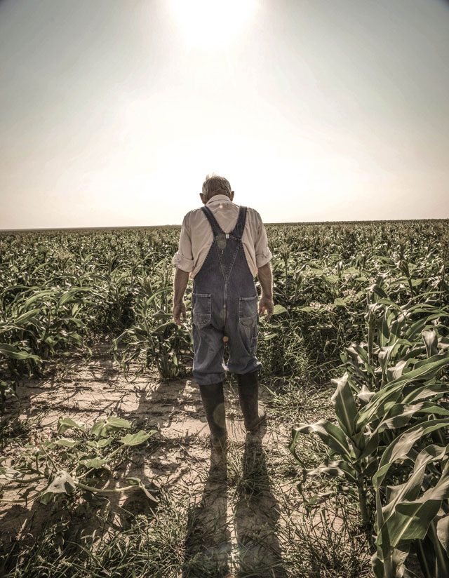 HT kansas life tom vincent farmer thg 131001 wblog Water, as Precious as Gold: Life in Parched Western Kansas