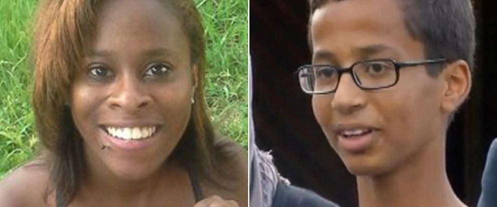 PHOTO: Kiera Wilmots 2013 arrest bears similarities to Mondays arrest of Ahmed Mohamed, right.
