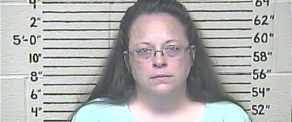 PHOTO: Kim Davis is seen in this Carter County Detention Center booking photo taken, Sept. 3, 2015.