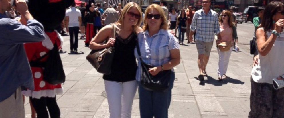 PHOTO: Jillian Fisher and her mom during a trip to New York City in June 2014.