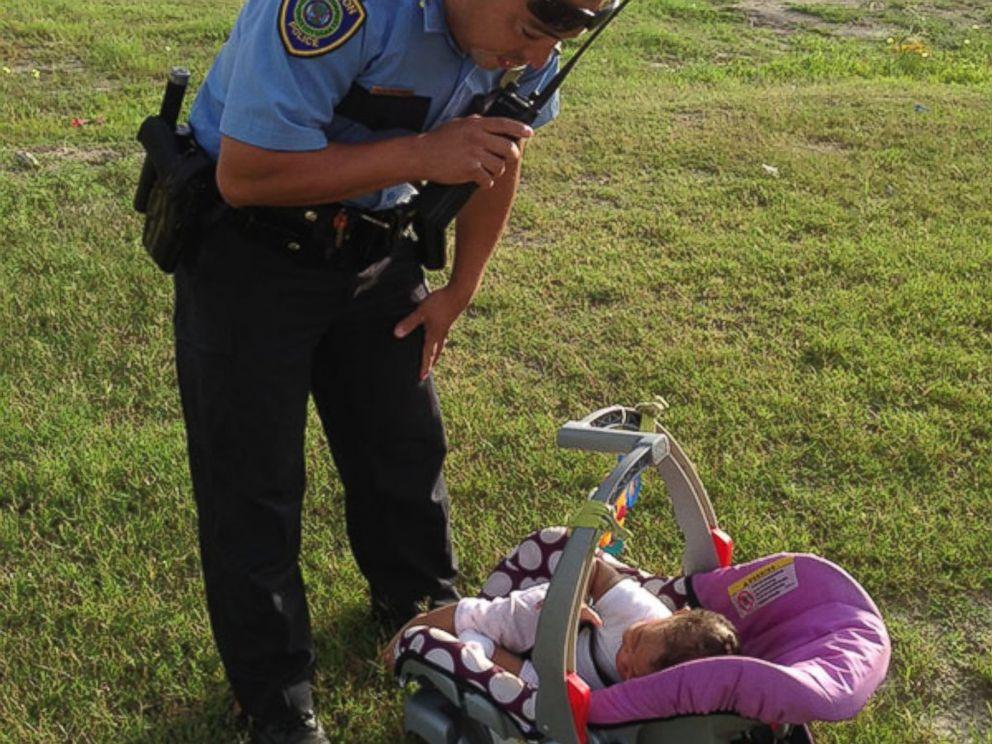 U.S. Infant in Stolen Car Found in Bushes Still Snuggled in Car Seat