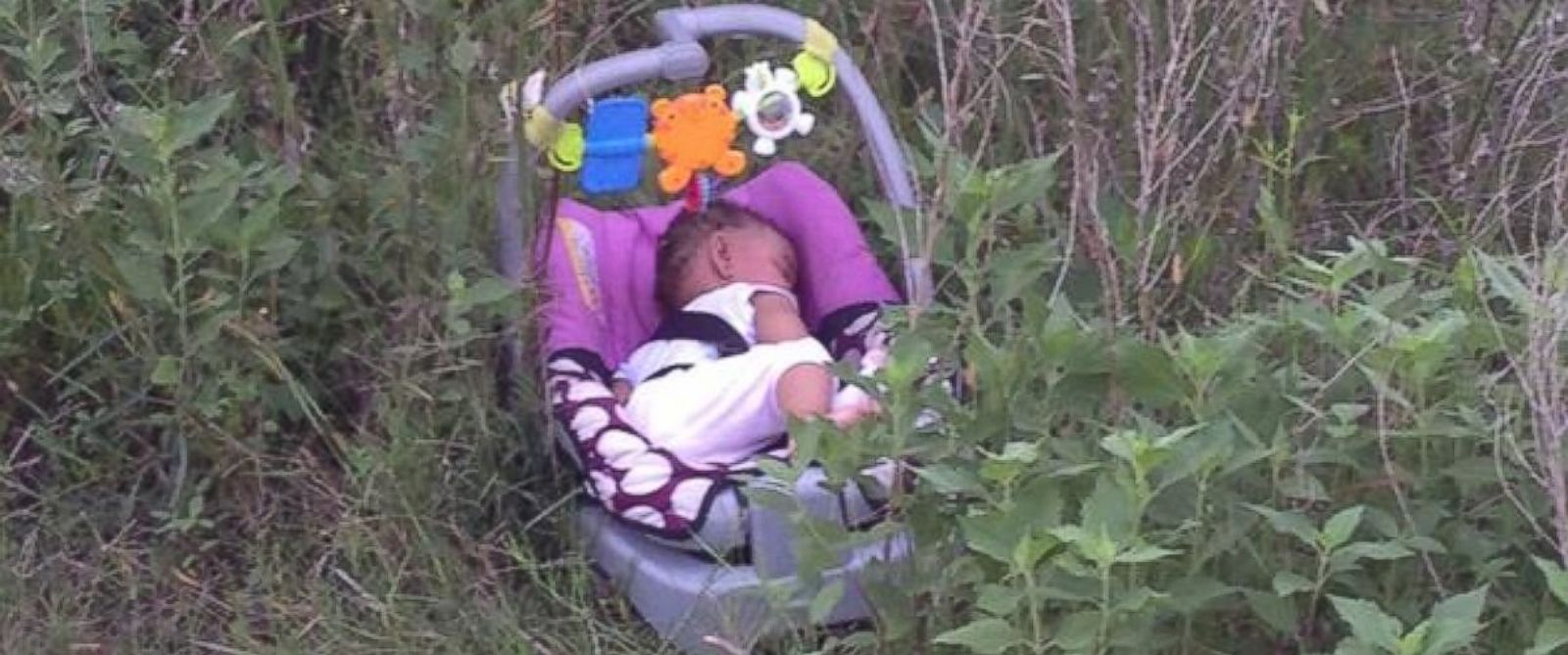 PHOTO: A Houston area jogger found 8-month-old Genesis Haley safe and sound after she was abducted from a gas station.