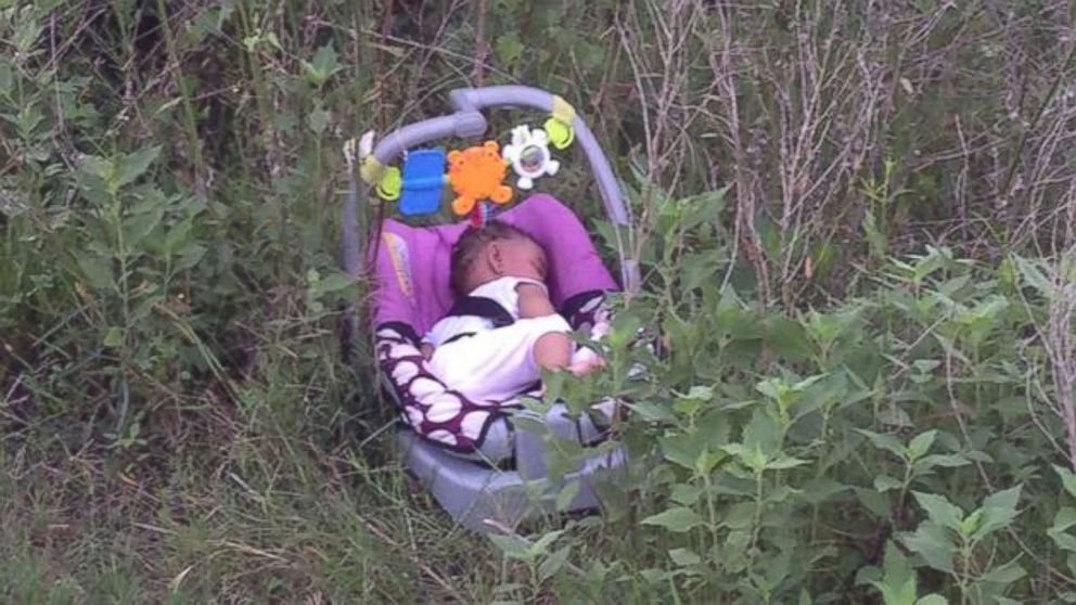 PHOTO: A Houston area jogger found 8-month-old Genesis Haley