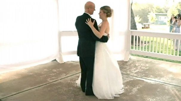 HT kxtv dance dm 130723 16x9 608 Daughter Records Faux Wedding Dance With Dying Dad