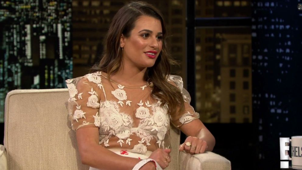 "PHOTO: Lea Michelle on ""Chelsea Lately,"" May 29, 2014."