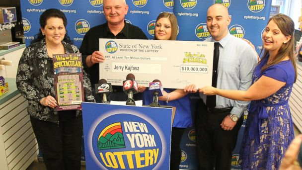 HT lottery winners mar 140227 16x9 608 Store Clerks Error Leads to $10M Jackpot for New York Man