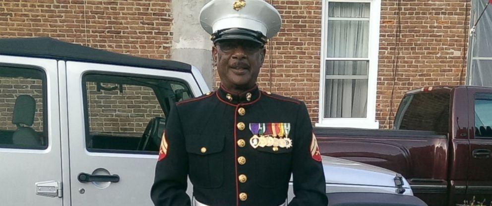 PHOTO: Retired Marine Cpl. Lewis Alston