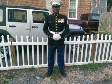 Retired Marine Steps Up As Crossing Guard for Students Without One
