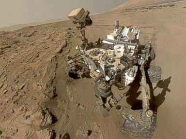 NASA Curiosity Rover Celebrates First Martian Year