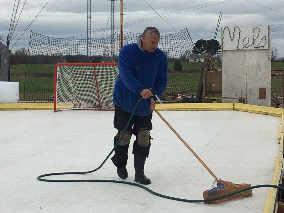 popular backyard ice rink shuts down amid legal dispute abc news