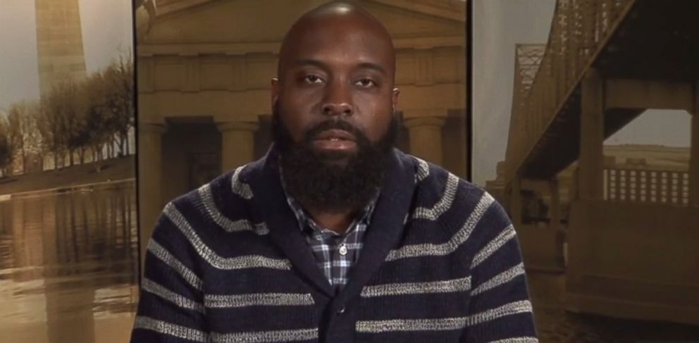 PHOTO: Michael Brown Sr. appeared in a public service announcement released Nov. 20, 2014 discussing his sons death and unrest in Ferguson, Mo.