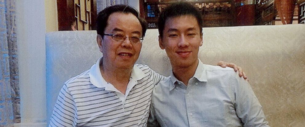 """PHOTO: Chun """"Michael"""" Deng, right, is the Baruch College student who died during a 2013 hazing incident. Pennsylvania authorities recently brought charges against dozens of members of Pi Delta Psi Fraternity."""