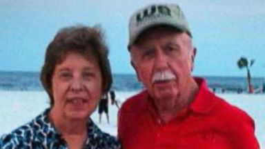 PHOTO: Bud and June Runion vanished while going to meet someone to buy a vintage car they found on Craigslist, authorities said. | Inset: Jay Towns is seen in this booking photo provided by Telfair County Sheriffs Office.