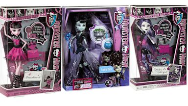 PHOTO: Monster HIgh Barbie Dolls are one of the most popular doll series the toy company Mattel sells.