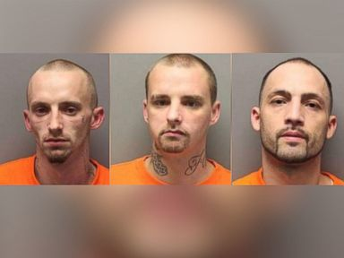 2 Escaped Inmates Captured, 1 Still on the Run