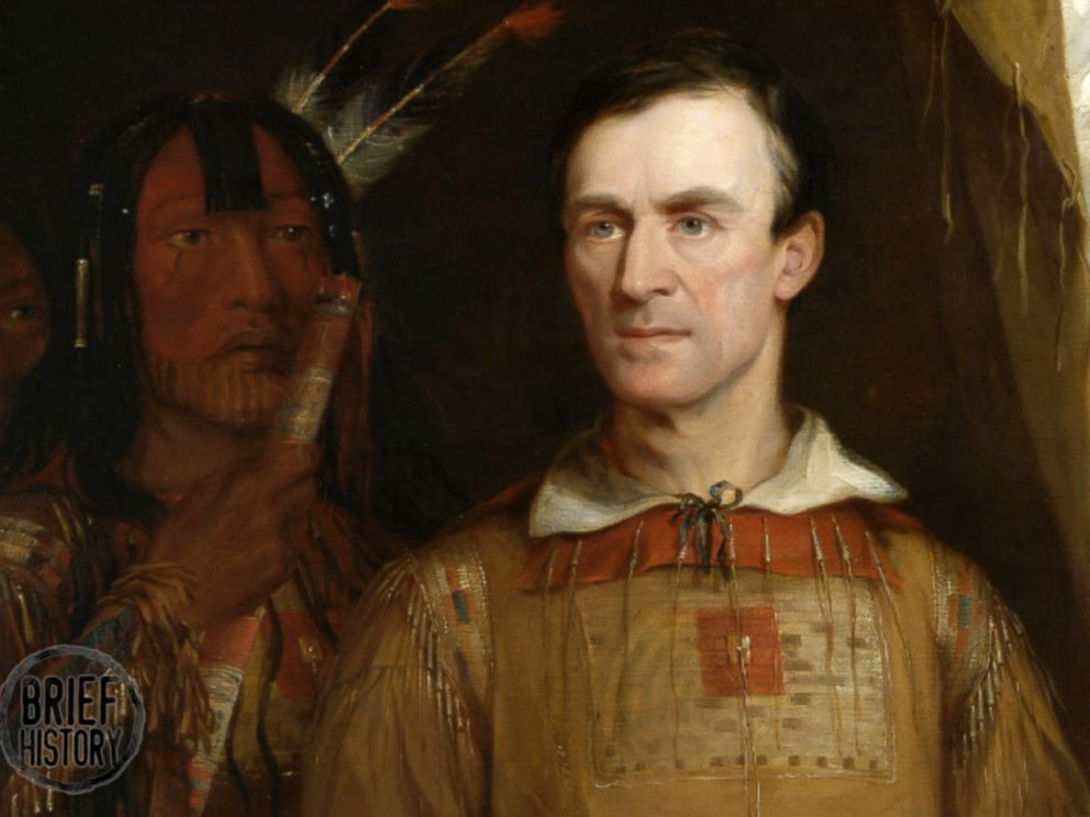 PHOTO: An 1838 painting depicts George Catlin.