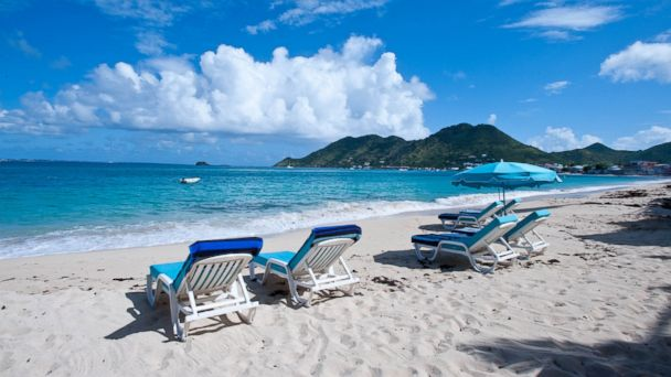 PHOTO: Orient Beach, St. Martin.