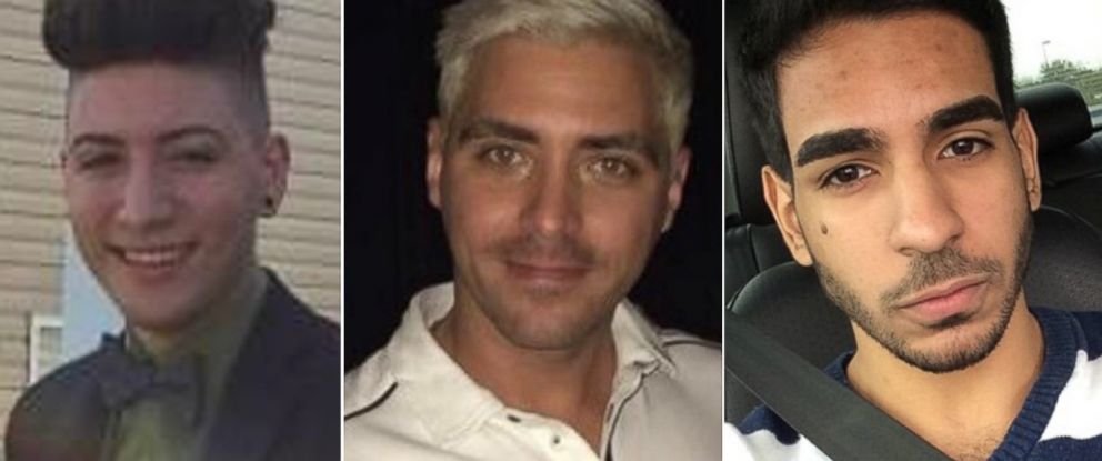 PHOTO: Luis Omar Ocasio-Capo , Edward Sotomayor Jr. and Juan Ramon Guerrero were some of the victims in the Orlando night club shooting, June 12, 2016.