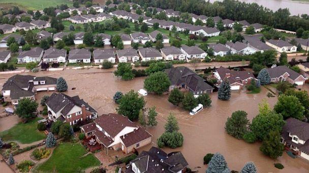 HT payton peterson co flooding lpl 130913 16x9 608 Colorado Residents, Rescuers Battle Epic Floods and Brace for More Rain