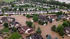 PHOTO: An aerial view of flooding in the Mt. View area in Longmont, Colo., posted on Twitter by Payton Peterson, Sept. 13, 2013.